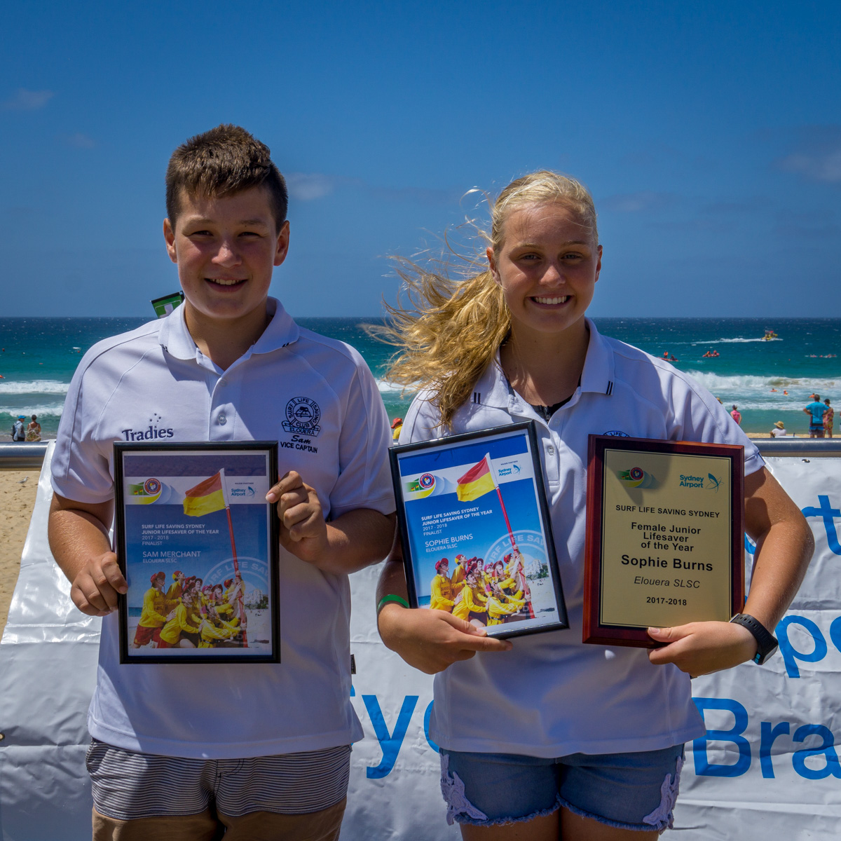SLS Sydney Branch Junior Lifesavers of the Year Announced