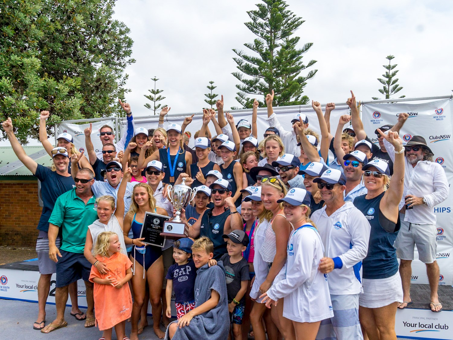 Elouera SLSC Nippers top the state