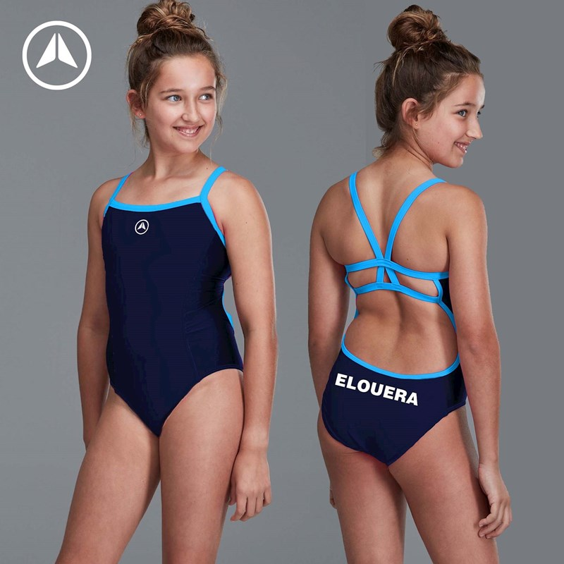 Elouera Youth Navy One Piece Costume – Now In-Stock