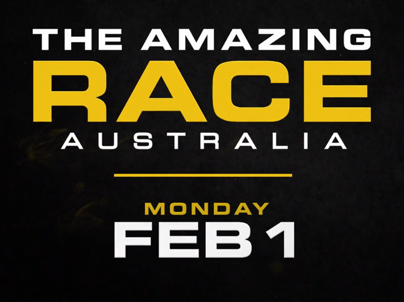 The Amazing Race Starts Monday Feb 1 at 7:30pm on Channel 10
